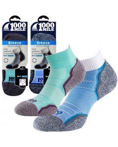 1000 Mile Breeze Anklet Socks - Womens