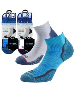 1000 Mile Breeze Lite Socks - Mens - White