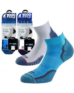 1000 Mile Breeze Lite Socks - Womens - White