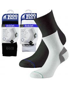 1000 Mile Ultimate Tactel Anklet Socks - Mens