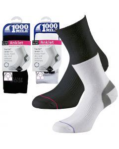 1000 Mile Ultimate Tactel Anklet Socks - Womens