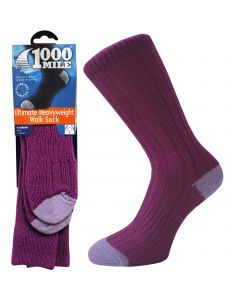 1000 Mile Heavyweight Walking Socks - Womens