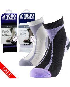 1000 Mile Race Running Socks - Womens