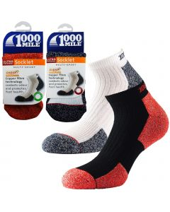 1000 Mile Ultra Performance Socklet Socks - Mens