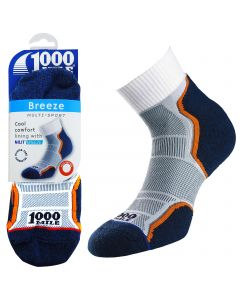 1000 Mile Breeze Anklet Socks - Mens