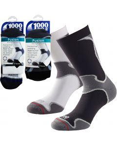 1000 Mile Fusion Workout Socks - Mens
