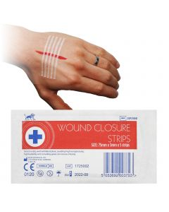 Blue Lion Wound Closure Strips | 50 Packs