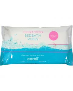 Carell Bed Bath Wipes