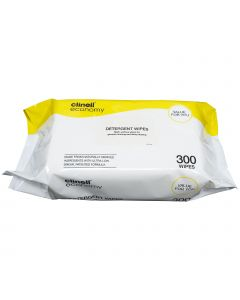 Clinell Detergent Wipes - 300 Pack