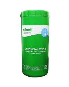 Clinell Universal Wipes Tub - 100 Pack
