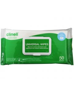 Clinell Universal Wipes - Adhesive Backed