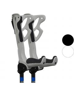 FDI - Ergodynamic Shock Absorbing Crutches - Pair