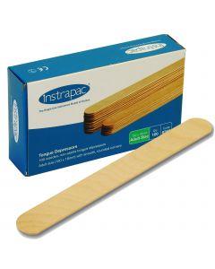 Instrapac Wooden Tongue Depressors - 8360