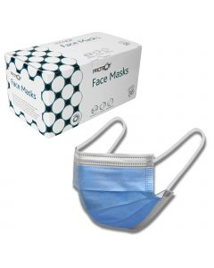 PROTEQT 3Ply Face Mask - 50 Pack