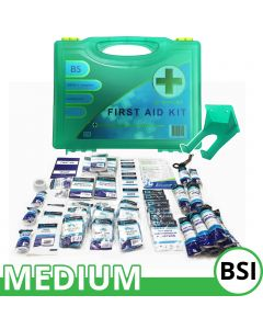 Qualicare Workplace Premier BSI First Aid Kit - Medium