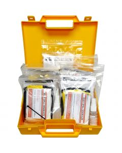 Qualicare 5 Pack Biohazard Disposal Case