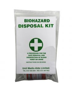 Qualicare Biohazard Disposal Kit