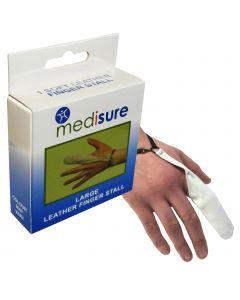 Medisure Leather Finger Stall