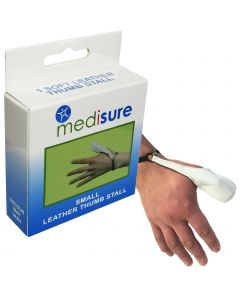 Medisure Leather Thumb Stall