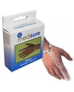 Medisure Plastic Finger Stall