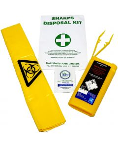 Qualiare Small Sharps Safe Disposal Kit