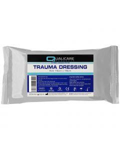 Qualicare Emergency Trauma Dressing - 10cm x 18cm