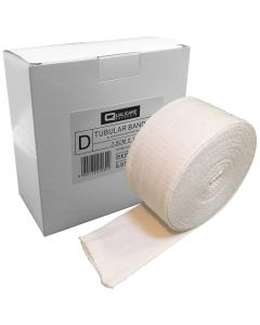 Qualicare Elasticated Tubular Bandage - Size D