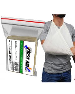 RE-GEN First Aid Calico Triangular Bandage