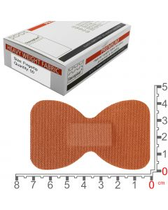 Steroflex Premium Fabric Plasters | Fingertip 7.5cm x 4.2cm | 50 Pack