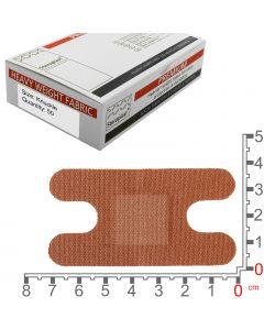 Steroflex Premium Fabric Plasters | Knuckle 7.5cm x 4cm | 50 Pack