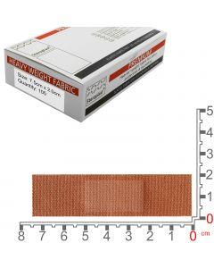 Steroflex Premium Fabric Plasters | 7.5cm x 2cm | 100 Pack