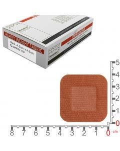 Steroflex Premium Fabric Plasters | 4cm x 4cm | 50 Pack