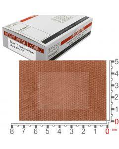 Steroflex Premium Fabric Plasters | 7.5cm x 5cm | 50 Pack