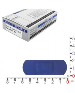 Sterochef Blue Catering Plasters | 6cm x 2cm | 100 Pack