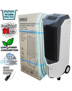 Sunca Evaporative Air Cooling System - 14 Litre