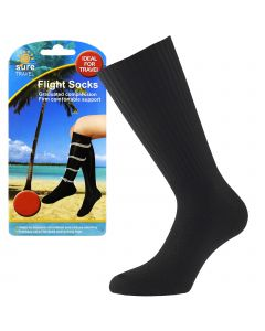 Sure Travel Flight Socks