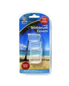 Sure Travel Tooth Brush Covers x 4