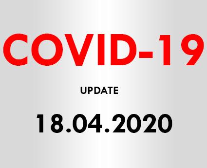 COVID-19 Customer Update (18.04.20)